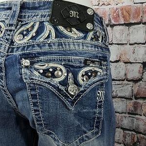 Miss Me Jeans Signature Boot Cut Women's 31